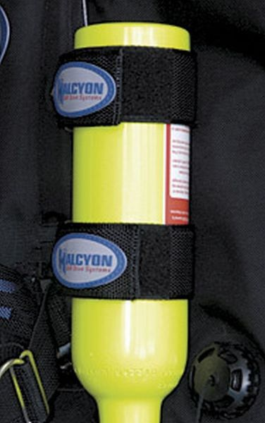 HALCYON Popruhy HALCYON pro upevnění Pony/Argon lahve k zádové desce
