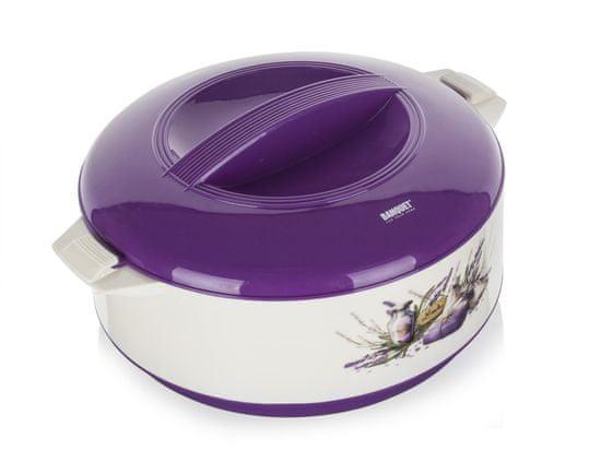 Banquet Lavender grelnik s pokrovom