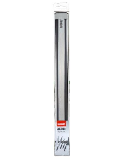 Banquet Lišta magnetická na nože AKCENT 33 cm