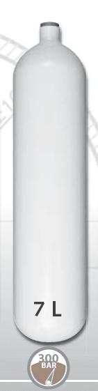 EUROCYLINDER Lahev ocelová 7 L průměr 140 mm 300 Bar