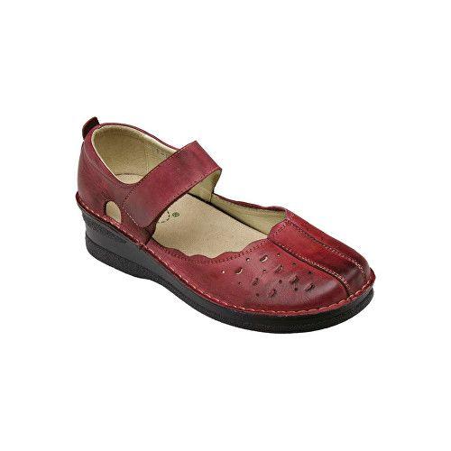 SANTÉ Zdravotní obuv dámská JH/4855 červená (Velikost vel. 39)