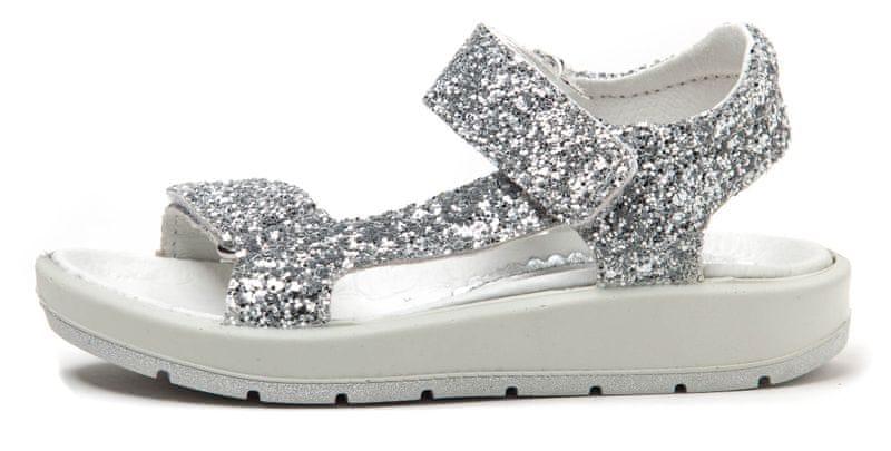 Primigi dívčí sandály 27 stříbrná