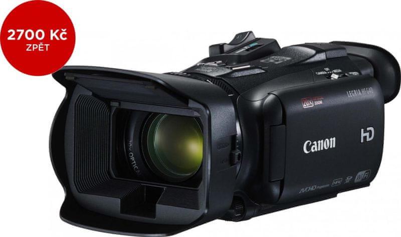 Canon LEGRIA HF G40 + 2700 Kč od Canonu zpět!