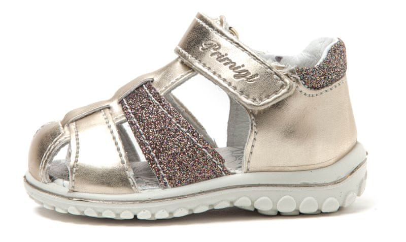 Primigi dívčí sandály 21 zlatá