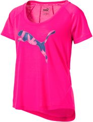Puma ženska majica Elevated Layer Tee W, roza