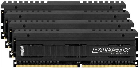 Crucial pomnilnik Ballistix Elite 64GB KIT (4x16GB) DDR4 3200 CL15 1.35V DIMM