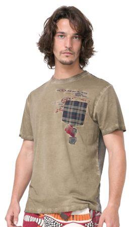 Desigual moška majica Javi L kaki