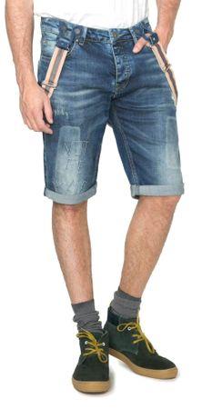 Desigual moške kratke hlače Obduli 30 modra