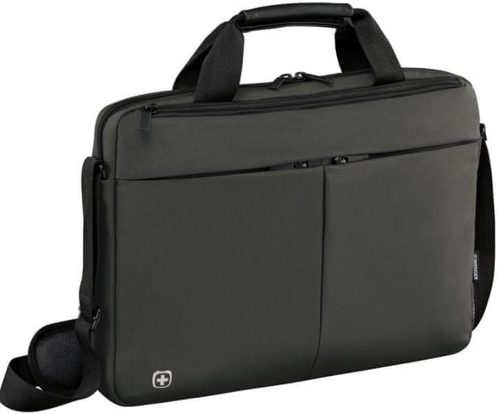 """Wenger Brašna Format na notebook (14"""") a tablet šedá"""