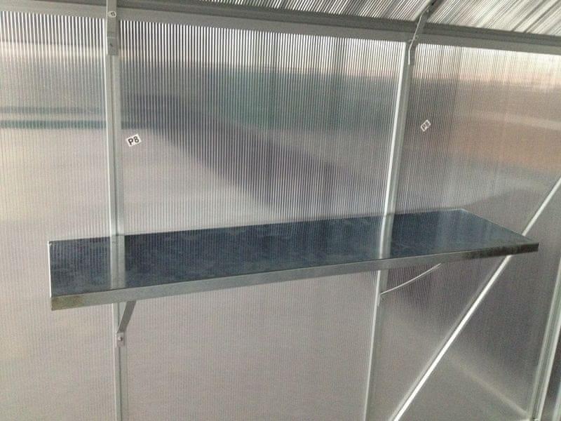 LanitPlast polička LANITPLAST PLUGIN 120x30 cm (1 ks)
