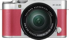FujiFilm X-A3 + XC 16-50 Pink