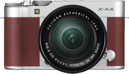 FujiFilm X-A3 + XC 16-50 Brown