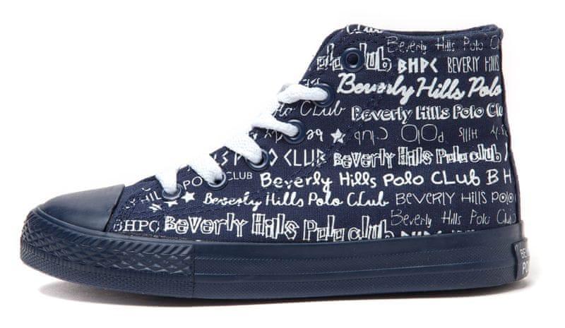 Beverly Hills Polo dětské kotníčkové tenisky 36 tmavě modrá