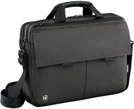 """Wenger Route táska notebookra (16"""") és táblagépre, szürke"""