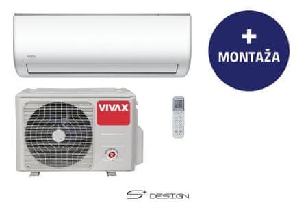 Vivax stenska klimatska naprava ACP-09CH25AESI+, z montažo