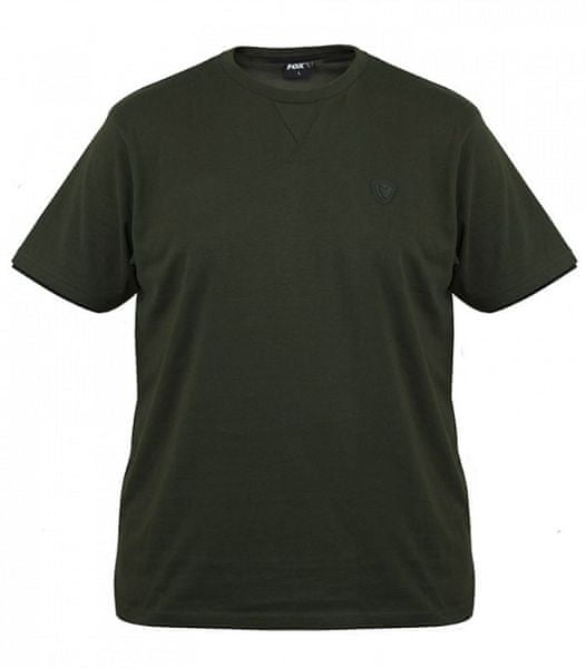 Fox Tričko Green Black Brushed Cotton T Shirt M