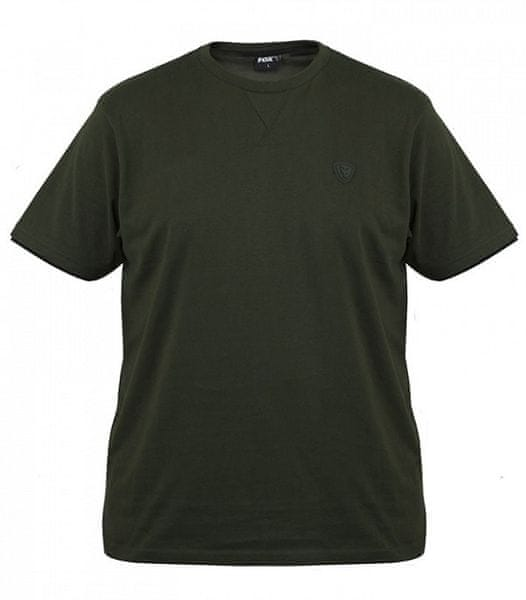 Fox Tričko Green Black Brushed Cotton T Shirt XXL
