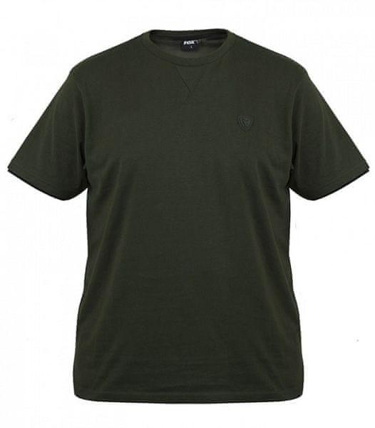 Fox Tričko Green Black Brushed Cotton T Shirt XXL