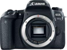 Canon zrcalno refleksni fotoaparat EOS 77D Body
