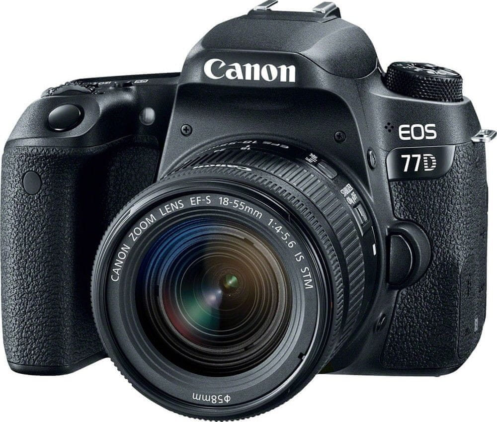 Canon EOS 77D + 18-55 EF-S IS STM
