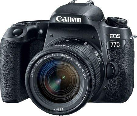 Canon EOS 77D + 18-55 IS STM + Cashback 2500 Kč! + 500 Kč na fotoslužby