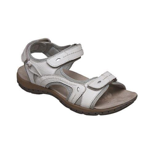 SANTÉ Zdravotní obuv dámská MDA/157-7 bílá (Velikost vel. 42)