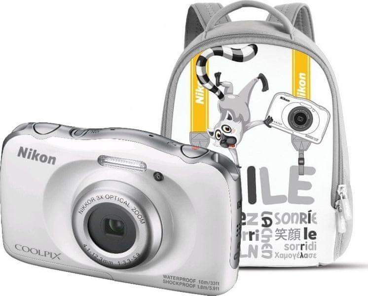 Nikon Coolpix W100 Backpack Kit White