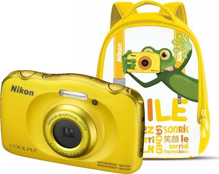 Nikon Coolpix W100 Backpack Kit Yellow