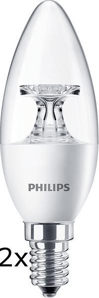 Philips CorePro Ledcandle 5,5-40W E14 827 B35 CL ND 2 ks