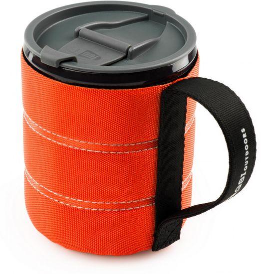 Gsi Kubek Infinity Backpacker Mug orange