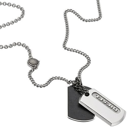 Diesel Pánský náhrdelník z oceli DX0954040