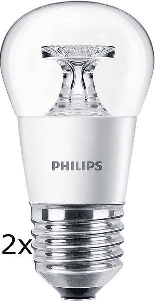 Philips CorePro Ledluster 5,5-40W E27 827 P45 CL ND 2 ks