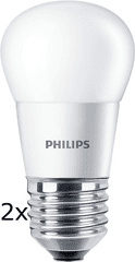 Philips CorePro Ledluster 5,5-40W E27 827 P45 FR ND 2ks