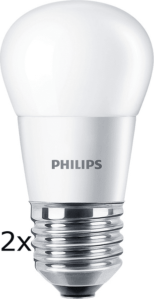 Philips CorePro Ledluster 5,5-40W E27 827 P45 FR ND 2ks