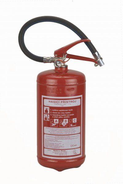 Hastex Práškový hasicí přístroj 4 kg - P 4Te