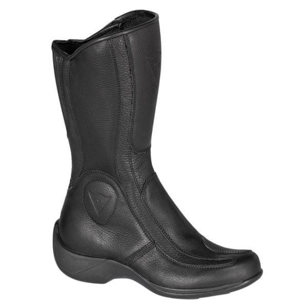 Dainese boty dámské SVELTA LADY GORE-TEX vel.38 černé, kůže (pár)