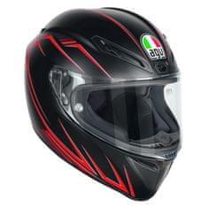 AGV motocyklová prilba  VELOCE S Predatore čierna/červená (matná)