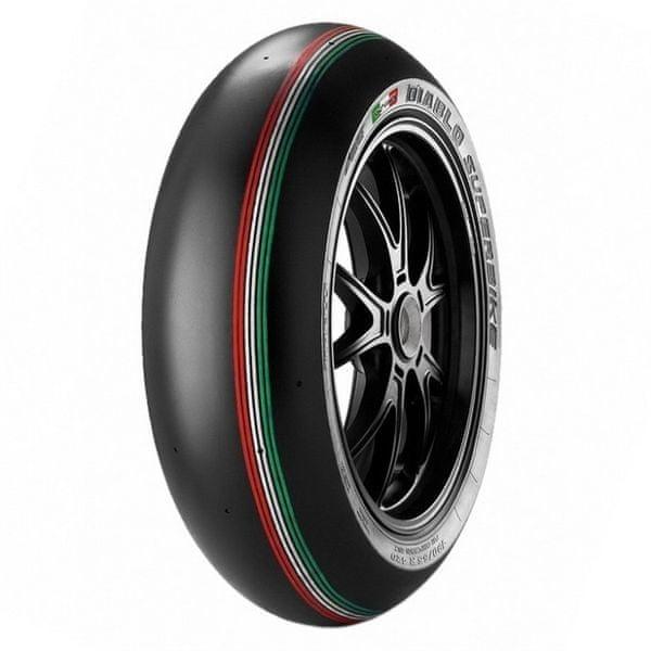 Pirelli 180/60 R 17 NHS TL SC0 K328 Diablo Superbike zadní
