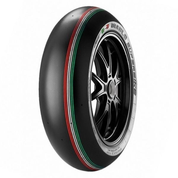 Pirelli 180/60 R 17 NHS TL K328 SC3 Diablo Superbike přední