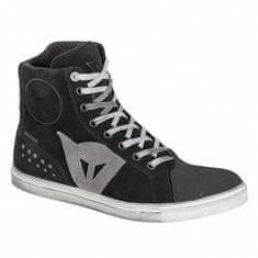 Dainese dámské kotníkové skútr boty  STREET BIKER LADY D-WP černá/antracitové logo
