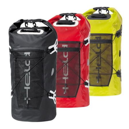 Held valec (Roll bag)  ROLL-BAG 60L biela/červená, vodeodolný