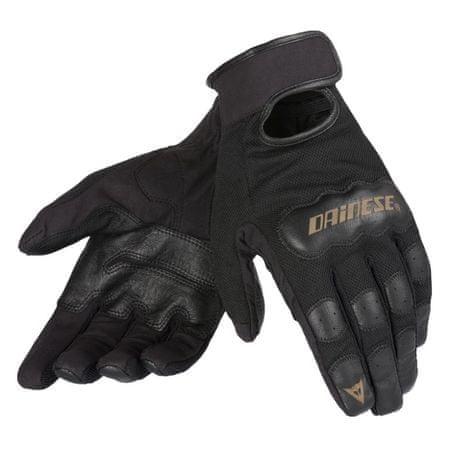 Dainese rukavice DOUBLE DOWN vel.S černá (pár)