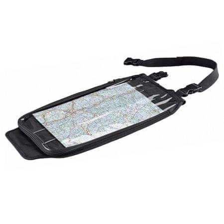 Held motocyklový Tankbag  MAP BAG na nádrž, čierny, Velcro systém