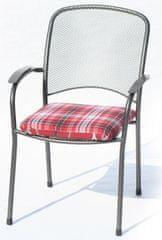 RIWALL poduszka ogrodowa Hartman, 41.5x46x6-1, czerwona