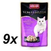 Animonda saszetki dla kota VF z łososiem i kurczakiem w sosie 9 x 50 g