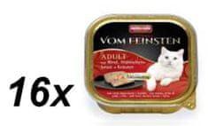 Animonda V.Feinsten CORE - marha, csirkemell + gyógynövények macskáknak 16 x 100g