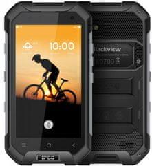 iGET Blackview GSM telefon BV6000s, črn