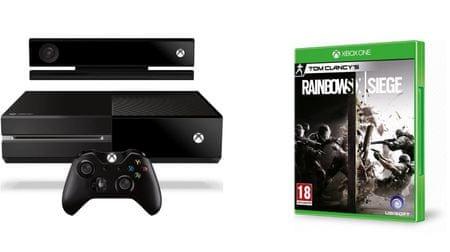 Microsoft Xbox One 500GB + Kinect Játékkonzol (refurbished) + Tom Clancy's Rainbow Six Siege