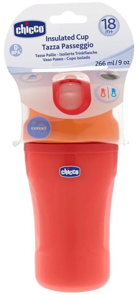 Chicco Lahev termo sportovní s brčkem, 18m+, červená