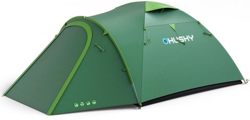 Husky Bizon 4 Plus zelená